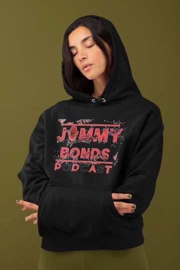 Jimmy Bonds Hoodie black